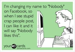 ecard stupid facebook