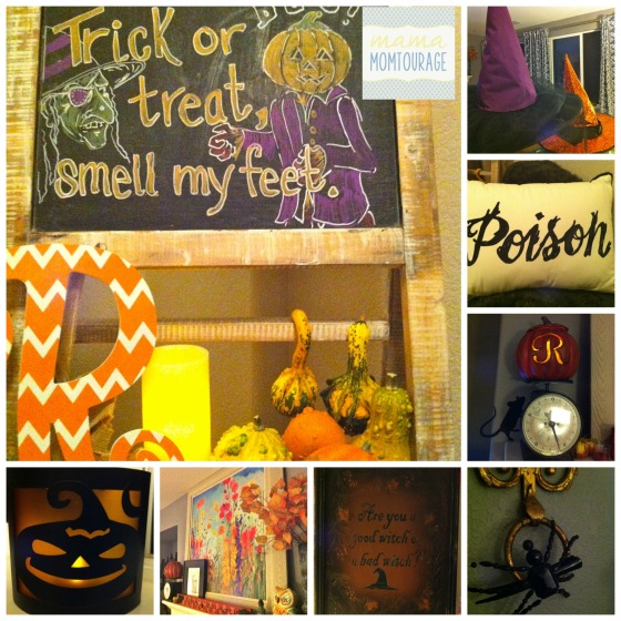 MM halloween Collage