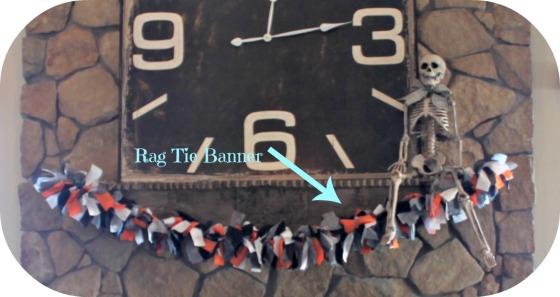 Rag tie banner