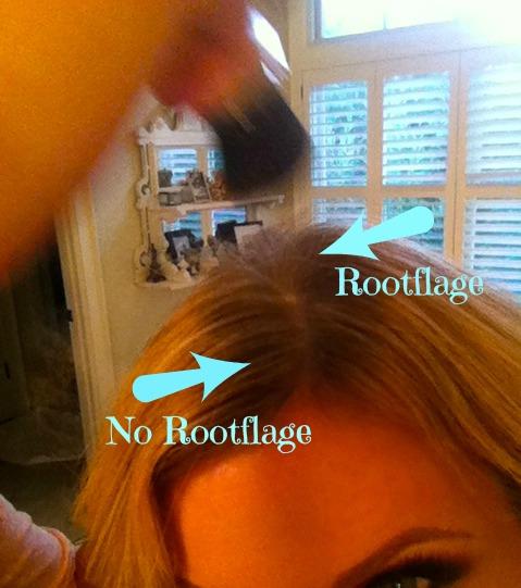 root close up