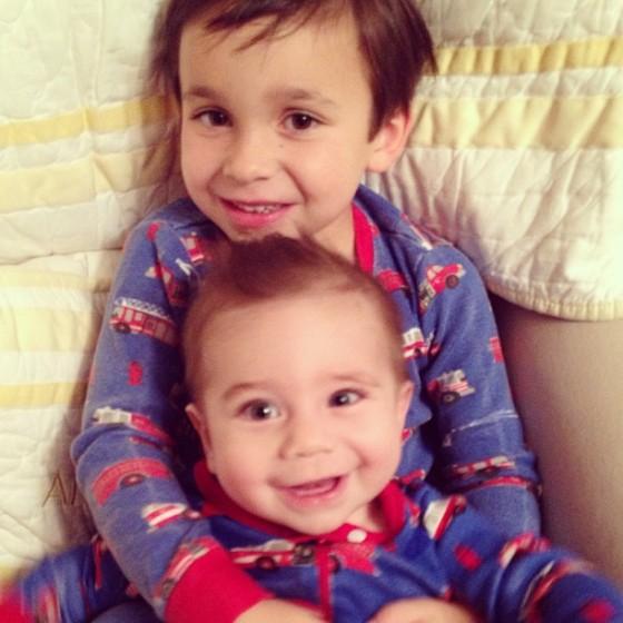 Ana's boys