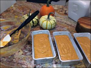 pour into prepped pans 2