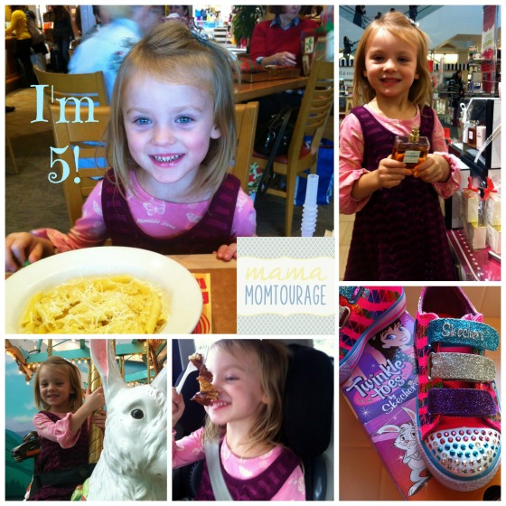 5th bday Collage