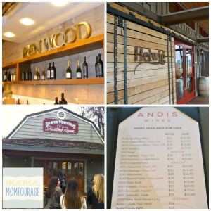 Amador Winery Collage