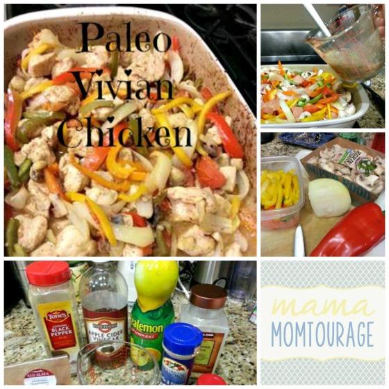 paleo Vivian Chicken Collage