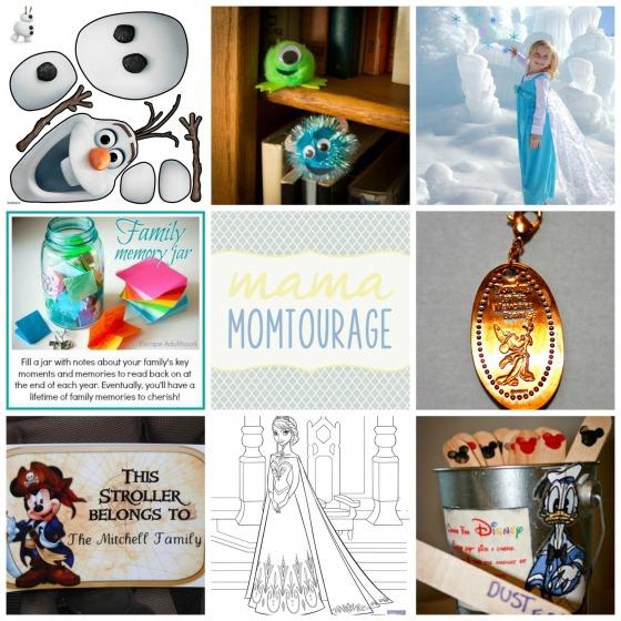 Dland craft collage