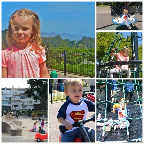playground collage