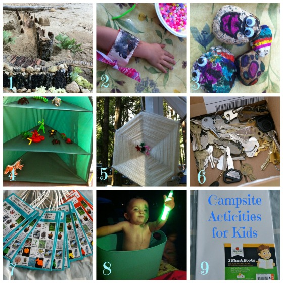kids acticities collage
