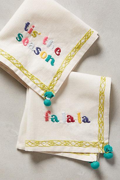 festive napkins