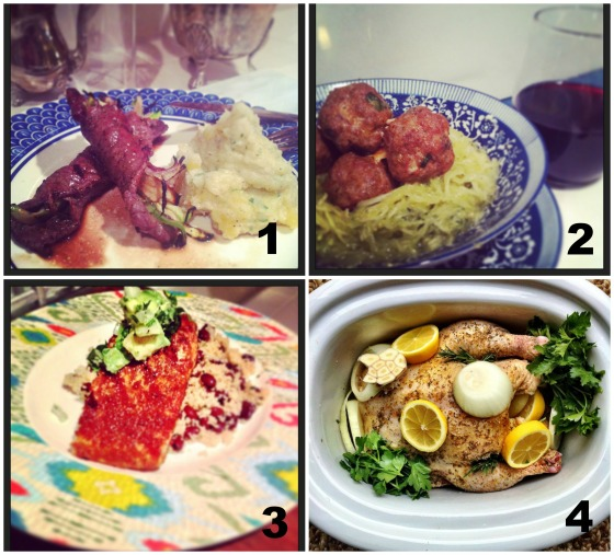 My happy moments from last week and Easy Healthy Weeknight Recipes