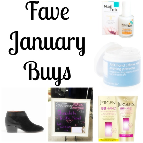 Fave January Buys