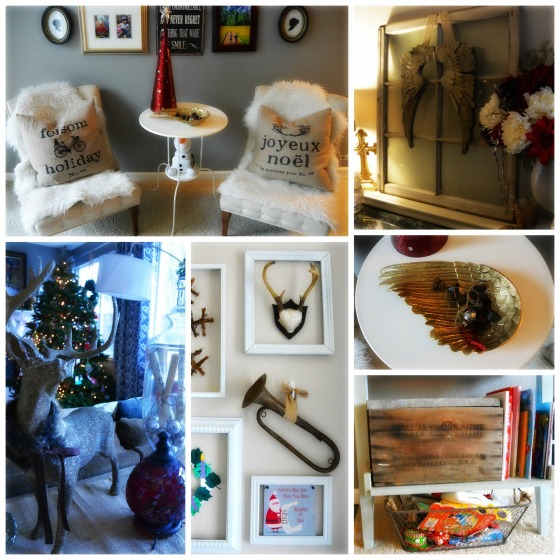 new holiday decor collage